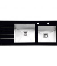 سینک شیشه ای ایلیااستیل مدل 8021